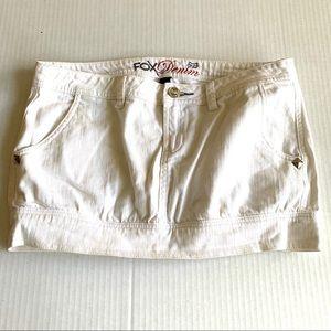 FOX Denim Mini Skirt